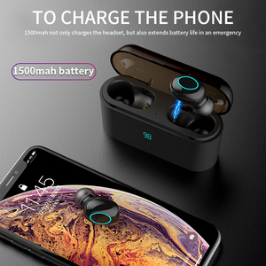 Image 5 - HBQ TWS Bluetooth Earphone Touch Control Mini Earbud With Mic LED Power Display Charge Box Wireless 3D Stereo Music Play Headset