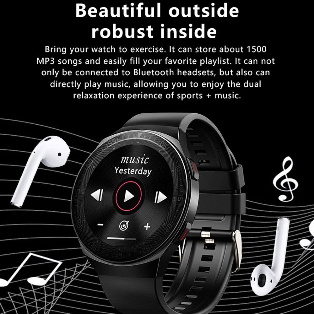 Умные часы MT-3 8G с памятью музыки, мужские водонепроницаемые умные часы с Bluetooth и сенсорным экраном, функция записи, спортивный браслет 2