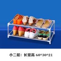 1 Pcs 다층 미니멀리스트 실용적인 금속 서있는 신발 랙 무료 어셈블리 홈 이동식 슈퍼 공간 절약 신발 캐비닛