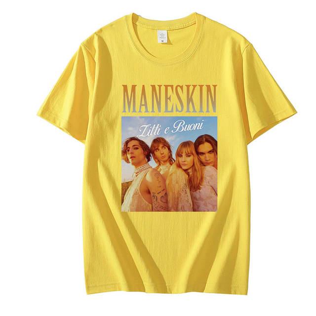MANESKIN THEMED T-SHIRT (10 VARIAN)