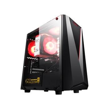 IPASON CHEAP Gaming PC G5420/9100F/GTX1650 4G/RX550 4G D4 16G RAM Support DVI/HDMI/DP Desktop Computers For Game CSGO/Fortnite 3