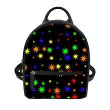 Custom patterns Women's luxury backpacks Dot pattern Print Bagpack Casual Anti Theft Backpack for ladies travel backpack