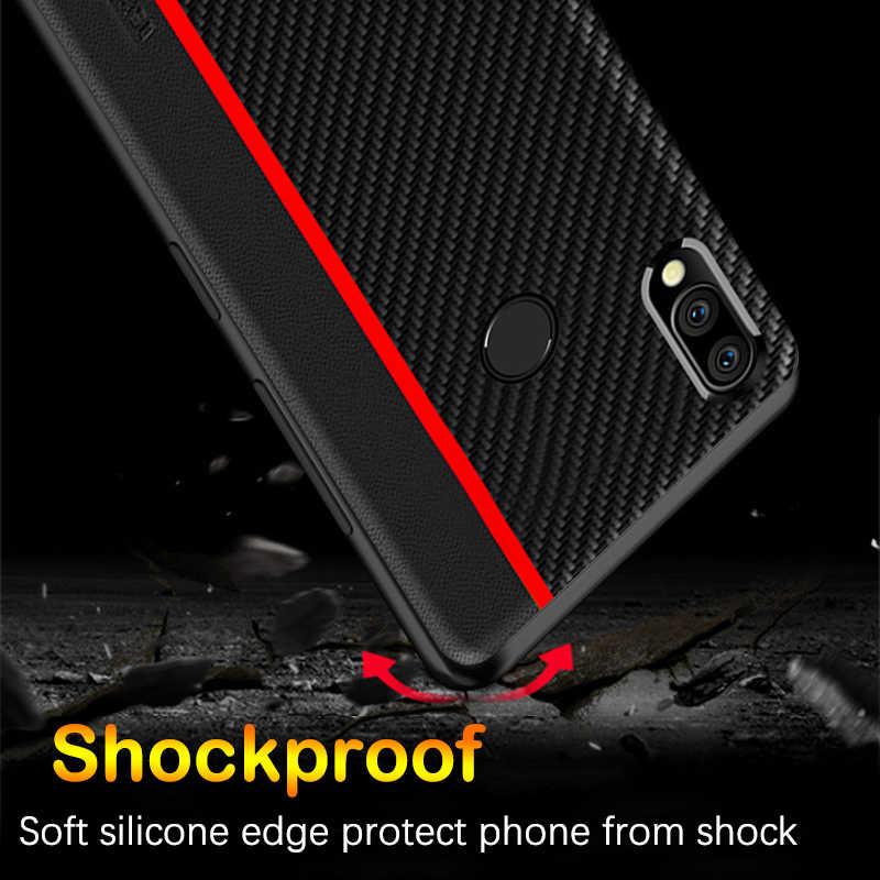 Cho Red Mi Note 7 Sợi Da Bảo Vệ Dành Cho Tiểu Mi Mi 8 Lite 9 SE 9T pro Red Mi Note 8T 8 7 5 K20 K30 Pro 6A 7A 8A Ốp Lưng