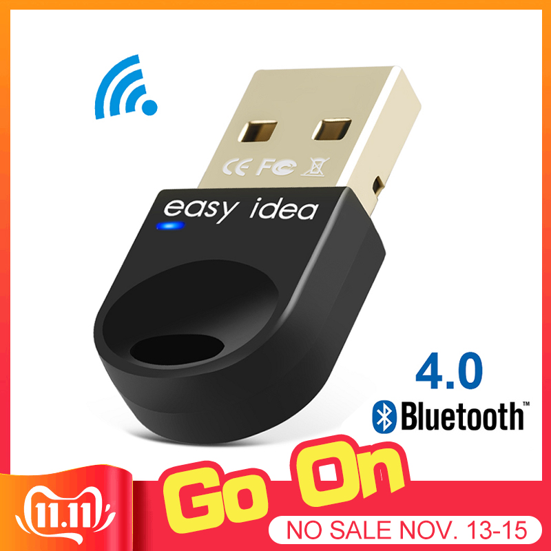 Wireless USB Bluetooth Adapter For Computer Bluetooth Dongle USB Bluetooth 4.0 PC Adapter Bluetooth Receiver Transmitter