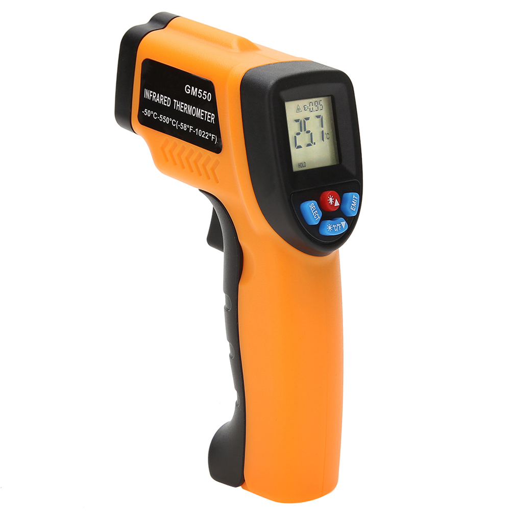 GM550 -50~550 C Digital Infrared Thermometer Pyrometer Aquarium Outdoor Thermodetector Thermometer #35