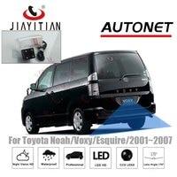 JiaYiTian kamera tylna dla Toyota Noah R60 Voxy AZR R60 2001 ~ 2007 CCD Night Vision kamera cofania licencja kamera na tablicę rejestracyjną w Kamery pojazdowe od Samochody i motocykle na