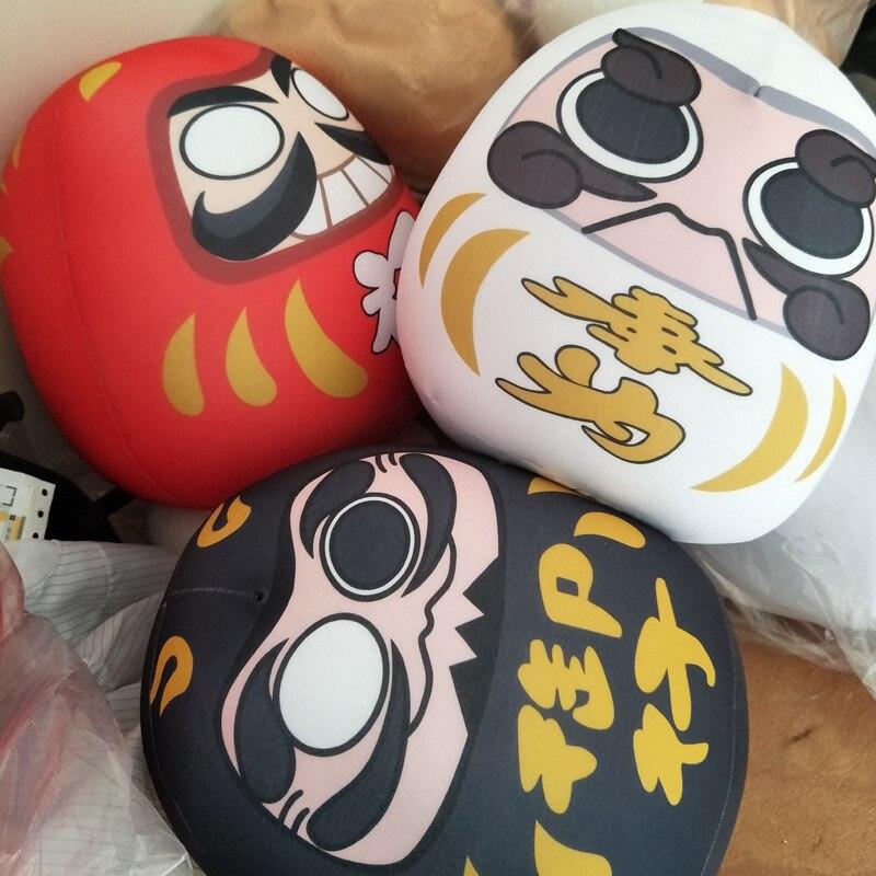 Super Soft Stretch Nano Particles Japanese Anime Surrounding Daruma Doll Sofa Pillow/Cushion Children Plush Toys Stuffed Toys