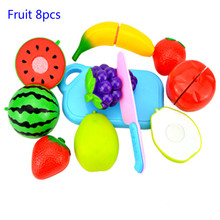 Pretend Play Plastic Food Toy Cutting Fruit Vegetable Food Pretend Play Toys for Children Classic Toys Educational Toys new pretend play plastic food toy cutting fruit vegetable food pretend play kitchen food toy children for children birthday gift