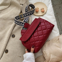 Wide Shoulder Strap Letter Bag Woman Famous Luxury Brand 2019 Autumn and Winter New Diagonal Cross