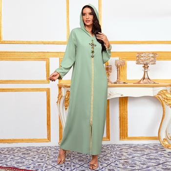 Abaya Dubai Turkey Muslim Fashion Hijab Dress American Islam Clothing African Dresses For Women De