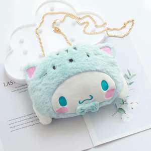 Plush-Bag Cinnamoroll Gifts My-Melody-Backpack Stuffed-Animals Girls Cute for Cool Outdoor