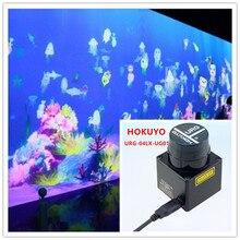 цена 4m URG-04LX-UG01 lidar ground wall large screen interactive software multi-touch projection interactive engine system package онлайн в 2017 году