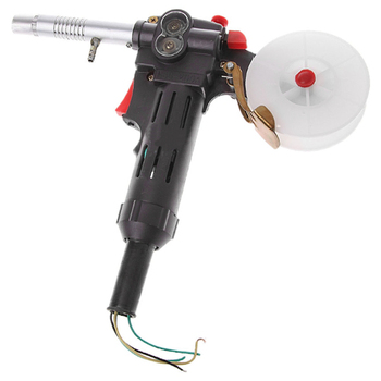 Welding gun Nbc-200A Mig Welding Tool Spool Tool Push Pull Feeder Welding Torch Without Cable Machine Welding Torch Without Gear new nylon body toothed roller free parts mig spool gun push pull feeder aluminum steel welding torch without cable