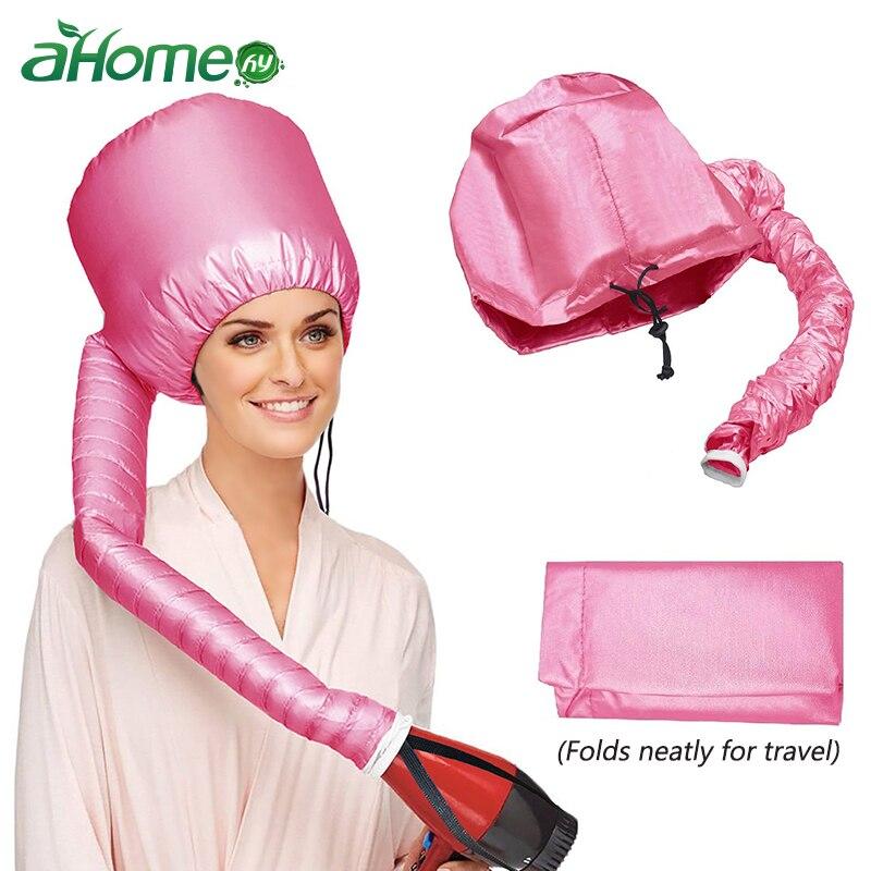 Szybko suszarka do włosów kapelusz ciepła z kapturem czepek czepek prysznicowy akcesoria łazienkowe (losowy kolor)