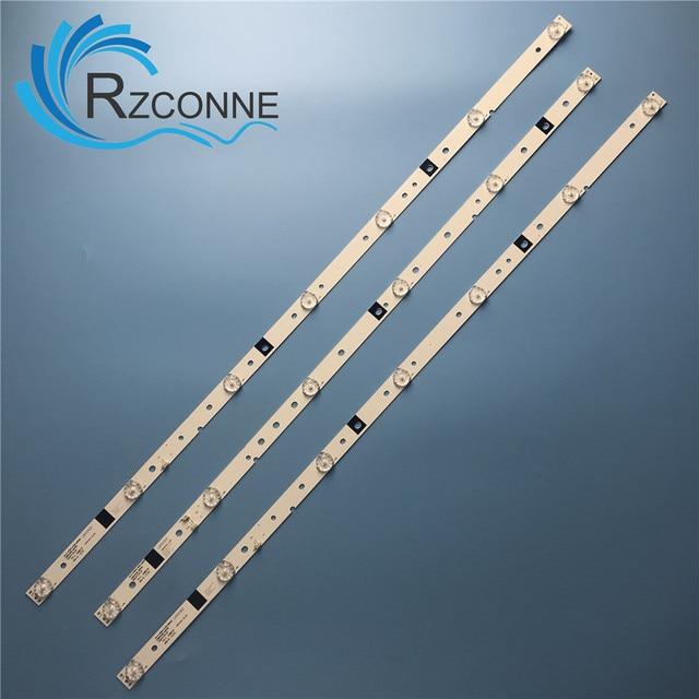 Lámpara de tira de LED para iluminación trasera para LED39C310A JS D JP3910 071EC E39DU1000 MCPCB