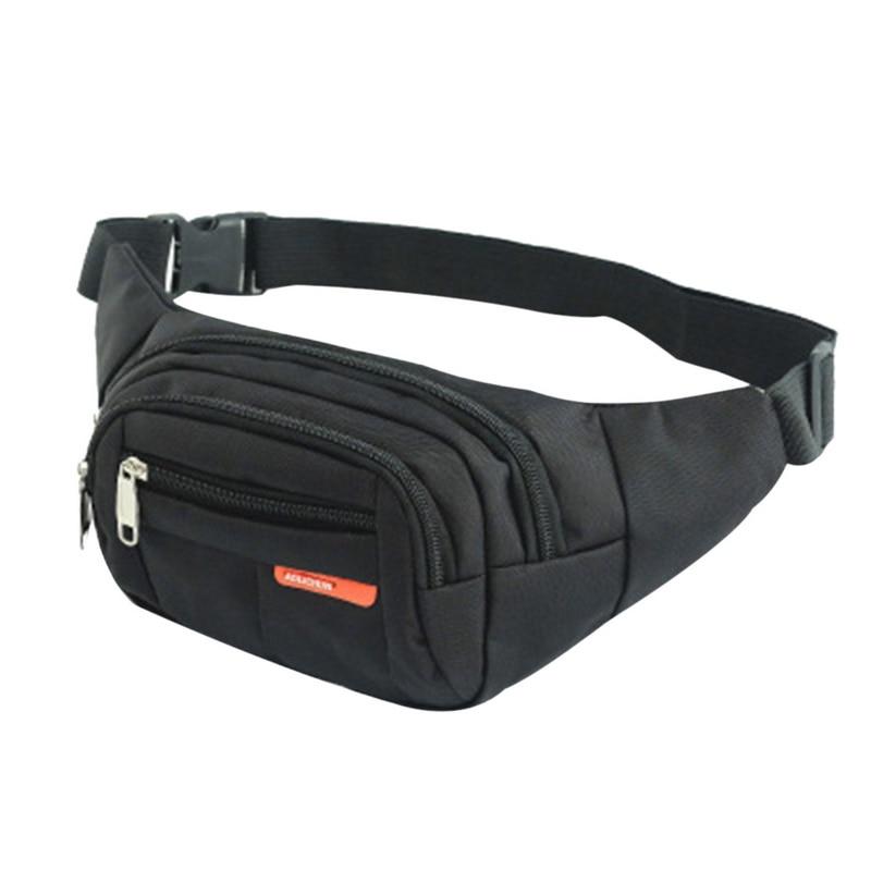 LOOZYKIT 6 Colors New Unisex Waist  Men Women   Bum Bag Travelling Phone Money Pouch Banana Bags Female Belt Bags
