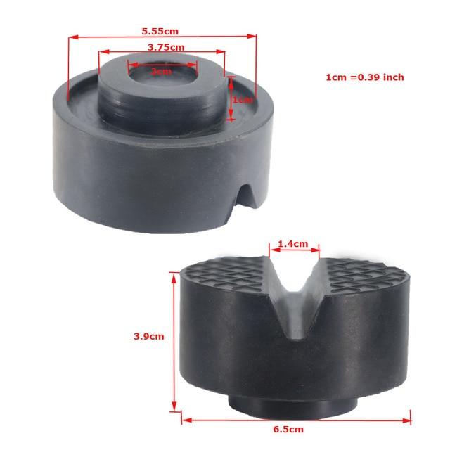 Mise à niveau de l'adaptateur de Rail de cadre de Type de Support de cric de voiture épaissi pour la protection latérale de soudure de pincement 4