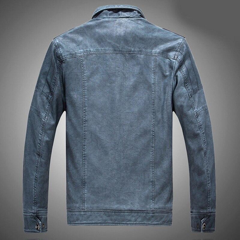 Hf0dd0d4581ff49278683c5c5adb0de8d1 Luxury 2019 Leather Jackets Men Autumn Fleece Zipper Chaqueta Cuero Hombre Pockets Moto Jaqueta Masculino Couro Slim Warm Coat