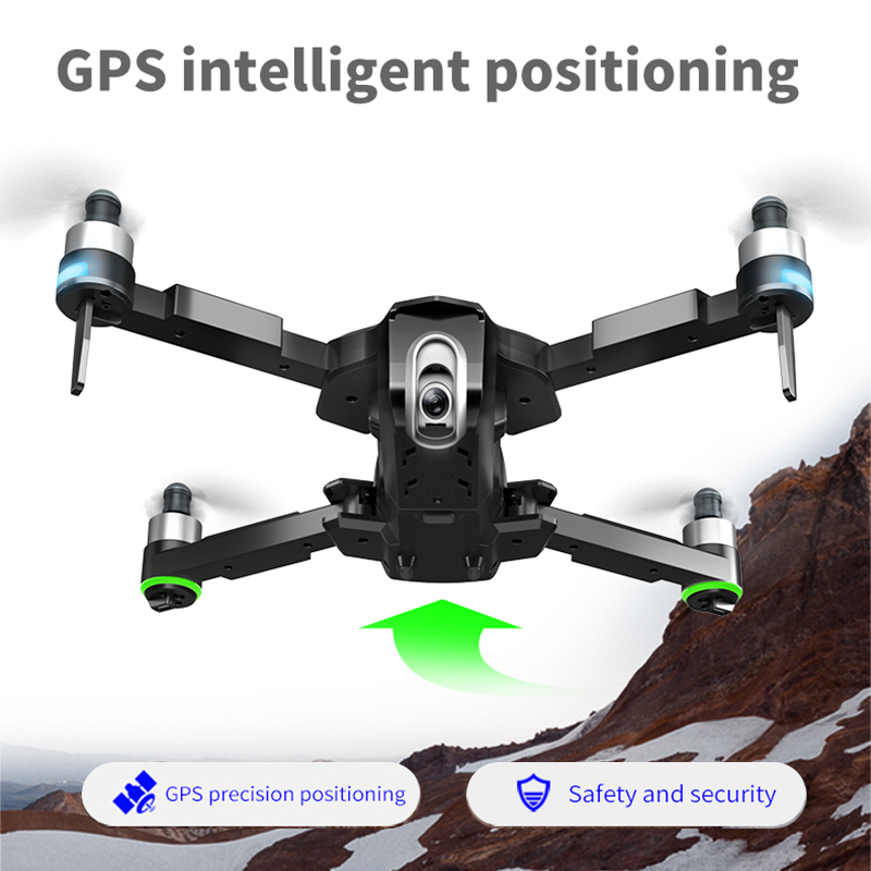 GPS Drone 4K Quadrocopter Follow Me Wifi FPV Long Time Fly Profissional Drones with Camera HD RC Dron VS SG906 K1 E520 F11 PRO 3