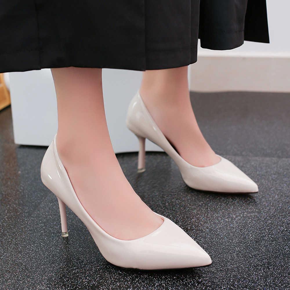 2019 New Fashion High Heels Women Pumps