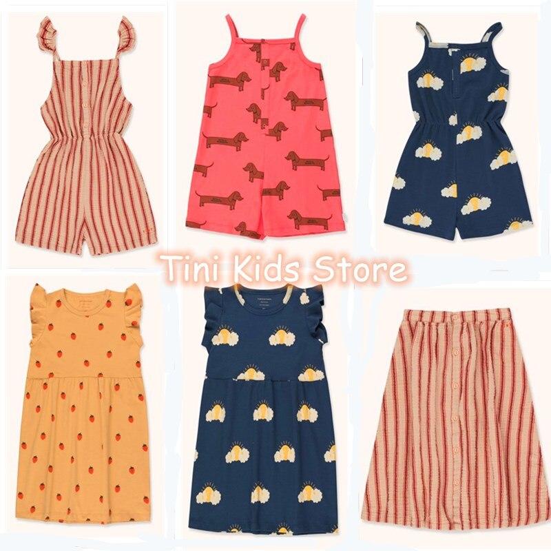 Bberos Bebe Girls Tops Baby Girl Overalls Kids Clothing Tiny Cottons Baby  Kids Dresses For Girls Vestido Verano 2020 Unicorn