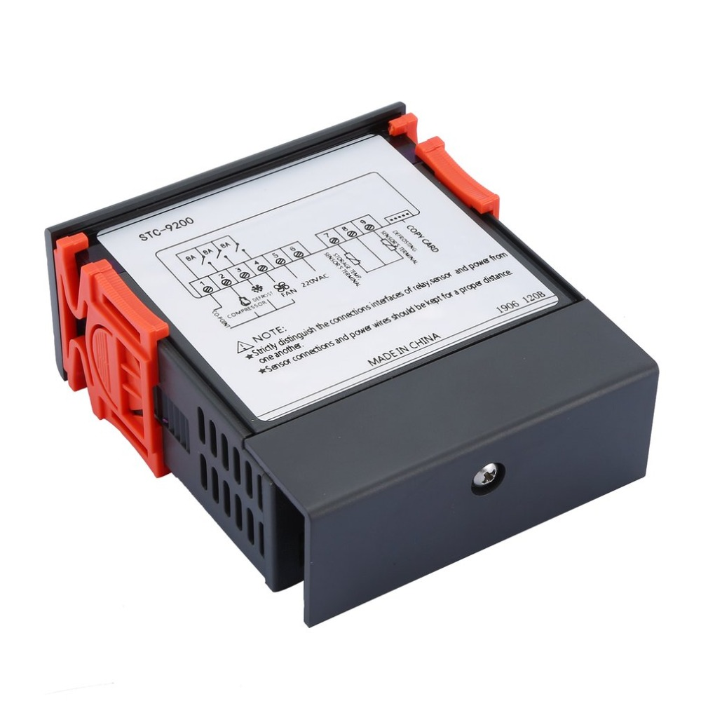 STC-9200 controlador de temperatura digital termostato regulador