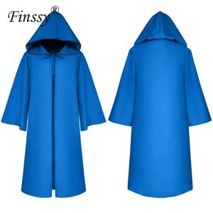 Image 4 - Halloween Death Wizard Cloak Cosplay Kostuum Monnik Hooded Gewaden Mantel Cape Friar Middeleeuwse Renaissance Priest Kids Adult