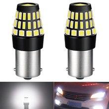 2x p21w ba15s 1156 luz de circulação diurna lâmpada led para hyundai getz tucson santa i40 sonata acento i30 solaris creta ix25 drl