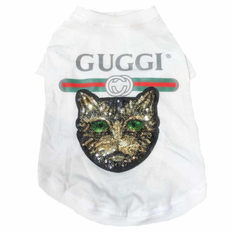 Camiseta para ropa para perros BullDog francés Schnauzer Pug Teddy Bichon hipomi Chihuahua cachorro moda de invierno ropa de perro de lujo