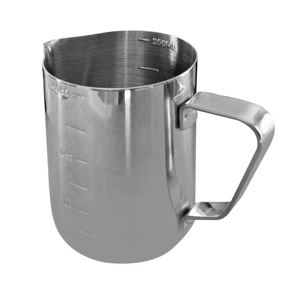 Candle Making Pitcher Frothing Pitcher Stainless Steel Milk Pitcher 350 ml Perfect for Wax, Milk, Cream, Water, Juices, Coffee