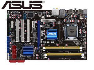 Desktop Motherboard Asus P5Q SE P45 Socket LGA 775 For Core 2 Duo Quad DDR2 16G UEFI ATX BIOS Original Used Mainboard PC