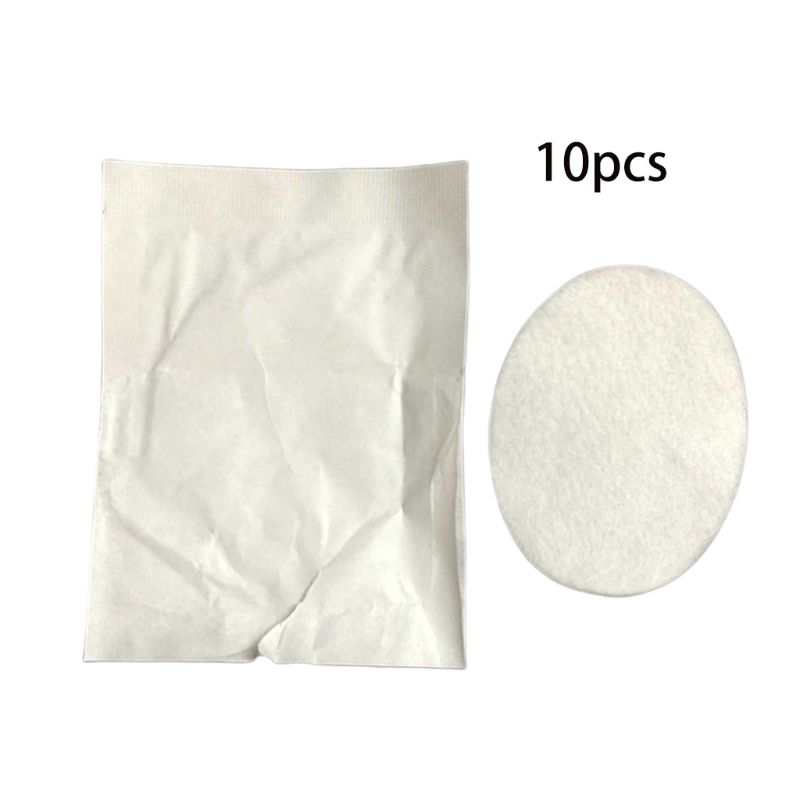 10Pcs 5x7cm Disposable Breathable Sterile Oval-Shaped Eye Pads First Aid Medical Eyeshade Patch Kit Dressing Wound Care T4MB
