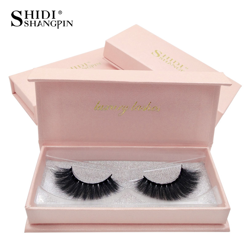 1 Pair Mink Eyelashes Fluffy False Eyelashes Natural 3d Mink Lashes Soft False Lashes Mink 3d Lashes Faux Cils Fake Eye Lash