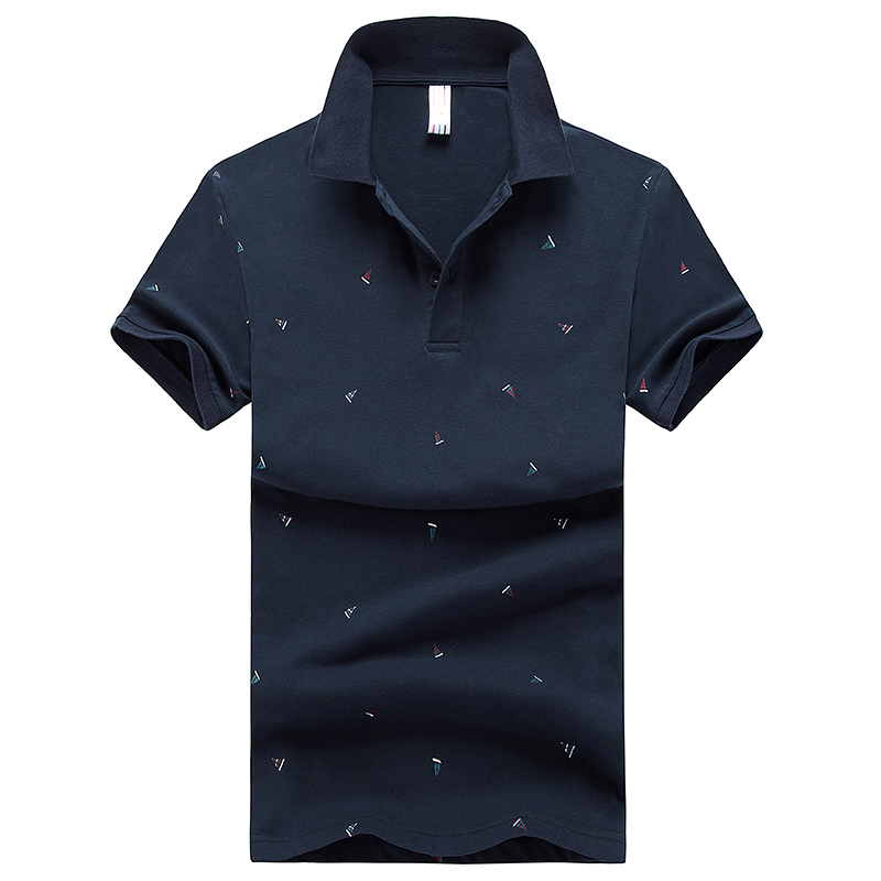 New Summer Men's   Polo   Shirts High Quality Tops For Man Slim Fit Short Sleeve   Polos   Business Casual Brand   Polo   Shirt XXXL