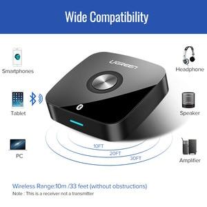 Image 4 - Ugreen sem fio bluetooth 5.0 receptor 3.5mm jack aptx ll aux 3.5 receptor de música alta fidelidade adaptador áudio para o carro receptor bluetooth