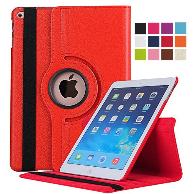 Cover For IPad 10.2inch 2019,360 Rotating With Auto Sleep/Wake Up Smart Case Cover For IPad 10.2 2019 7th Gen A2200 A2198 A2197