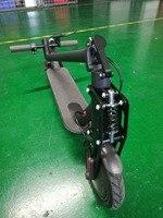 Kit de suspensión delantera para patinete eléctrico Xiaomi Mijia M365 Bird MI y M365 Pro, tubo frontal, absorción de impacto