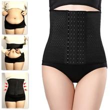 Women Shapewear Waist Trainer Belt Abdominal Trimmer Shaper Corset Modeling Strap Fat Burning Pregnant Belly Bandage