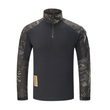 G3 Tactical Shirt Hunting Clothes Gen3 Long Sleeve Army Military Airsoft Paintball Hiking Shirt Camo MultiCam Black Combat Shirt