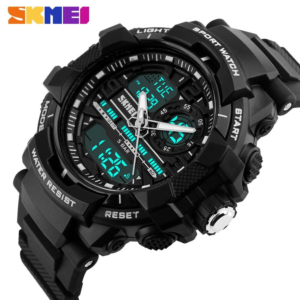 2020 New Skmei 1164 Sports Men's Watches Top Brand Luxury Military Quartz Watch Men Waterproof S Shock Clock Relogio Masculino