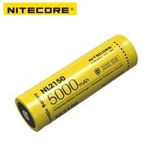 NITECORE NL2150 NL2145 NL2140 3.6V 21700 충전식 리튬 이온 배터리