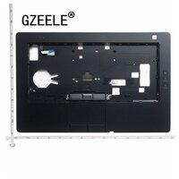 Gzeele nova capa para portátil dell latitude e6430 capa superior apoio de mãos 35h7m kb bezel capa com touchpad fpr 0rftgt c8mt7