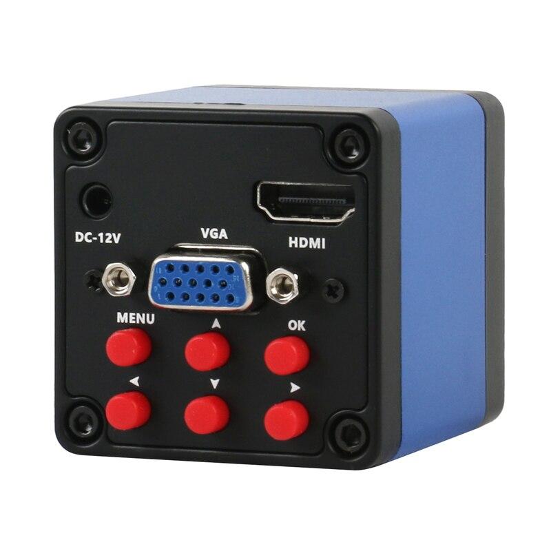 Video Camera Zoom 1080P SONY PCB Microscope 500X 300X 200X 100X C-mount Lens 13MP HDMI Industry 180X Jade 130X IMX307 VGA For
