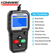 KONNWEI KW680S ODB2 Car Diagnostic Tool Engine Fault Code Reader Automotive Scanner Device EOBD OBDII Code Reader Engine Checker