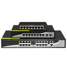 цена на 48V Network POE switch Ethernet with 8 10/100Mbps Ports IEEE 802.3 af/at Suitable for IP camera/Wireless AP/CCTV camera system