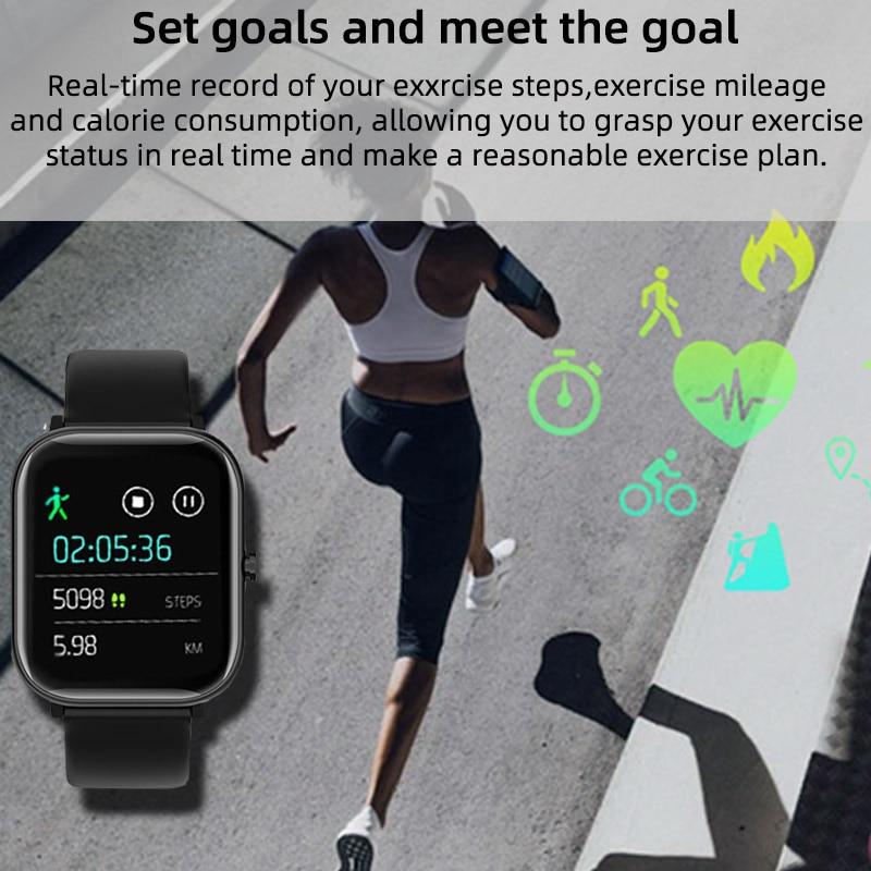 Smart Watch Men Women 2020 Smart Watch Android Fitness Calories Heart Rate Monitor Smartwatch Kids Smart Sport Watch Bracelet 3