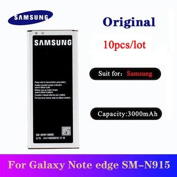 10 unids/lote batería Original para Samsung Galaxy nota borde N915 N915F N915A N915G N915T N915V teléfono Batteria EB-BN915BBE 3000mAh