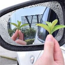 Car Mirror Clear-Film Waterproof Window Protective-Film Car-Sticker Anti-Car New 2PCS