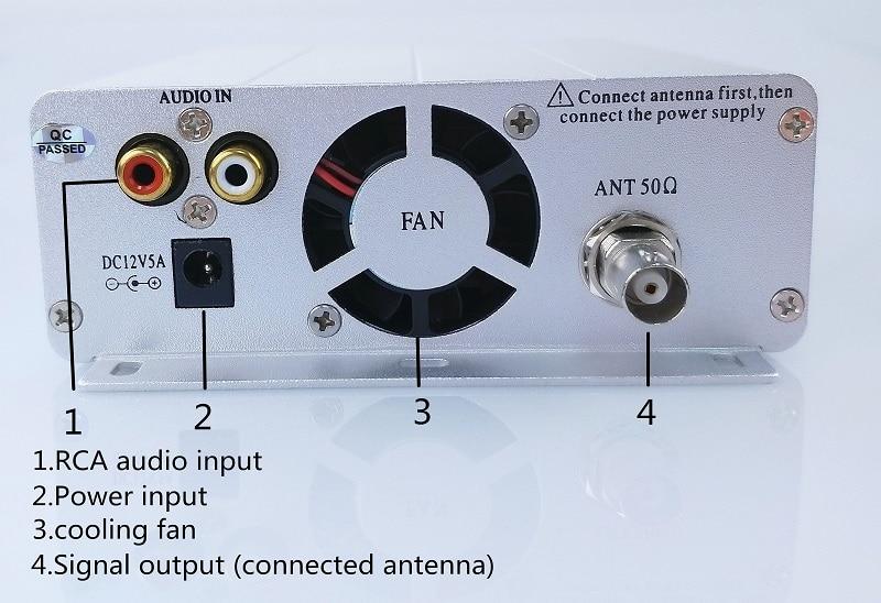 15W FM transmitter -4