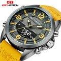 Двойной часовой пояс для плавания мужские спортивные часы цифровой календарь кварцевые наручные часы водонепроницаемые 50 м военные часы ...